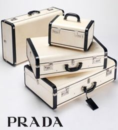 Prada Luggage - beautiful!  Out of my league!