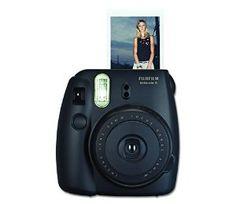 Amazon.com : Fujifilm Instax Mini 8 Instant Film Camera (Black) : Camera & Photo