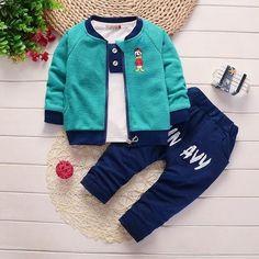 bibicola baby boys clothing sets children baseball sweatshirts warm sport suit k Trendy Baby Girl Clothes, Baby Boy Clothing Sets, One Clothing, Baby Outfits, Baby Boy Dress, Summer Boy, Outfit Sets, Boy Fashion, Sport