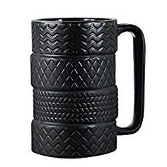 Cool Car Mug Tyre Tire Interior Durable Coffee Tea Cup Attractive Mugs Personalized Porcelain Gifts For Men Women Car Lover Oz Black,,Christmas Day Products,Gifts Products Clay Mugs, Ceramic Mugs, Unique Gifts, Best Gifts, Novelty Mugs, Wrench Set, Porcelain Ceramics, Gifts For Husband, Bars For Home