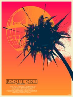 Death Star Over Scarif Poster - Doaly