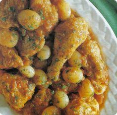 Speciale Natale: Pollo alla cannella con cipolline e pomodori.