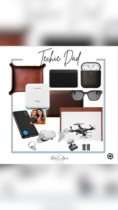 Gifts For Dad, Fathers Day Gifts, Father's Day Diy, Computer Technology, Tech Gadgets, Gift Guide, Dad Gifts, High Tech Gadgets, Father's Day Gifts