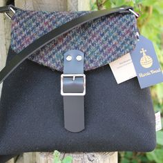 £110.00 Scottish Gifts -  Beautiful Harris Tweed Shoulder Bag http://www.onemoregift.co.uk/1_19-handbags/99-harris-tweed-shoulder-bag.html $
