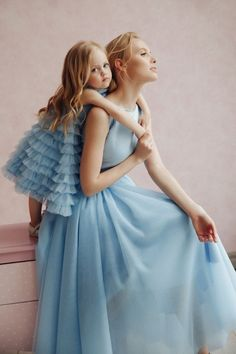 Mommy Daughter Dresses, Mother Daughter Fashion, Mother Daughter Matching Outfits, Mommy And Me Outfits, Mom Daughter, Family Outfits, Fashion Kids, The Dress, Baby Dress