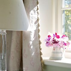 Fabric 320 - Linen/Shalini - Violet | Susie Watson Designs