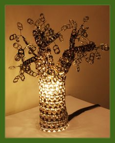 pop  crap! tab Tree Lamp!!!Holy Makes me think of @Cheryl Etters :)