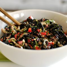 Preparación del alga hiziki ecológica | Alga hiziki ecológica