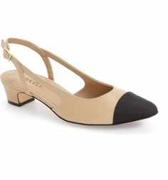 5474905687d3 Main Image - VANELi  Aliz  Slingback Pump (Women) High Heel Pumps