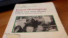 """""""París era una fiesta"""", una obra que recobra su éxito - http://www.actualidadliteratura.com/paris-era-una-fiesta-una-obra-que-recobra-su-exito/"""