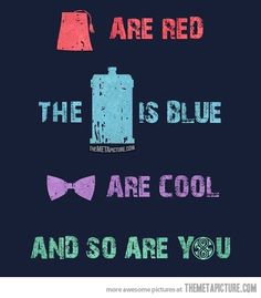 Doctor Who Poetry…