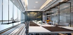View the full picture gallery of Top Plaza Hotel Meeting, Office Meeting, Interior Design Awards, Studio Interior, Corporate Interiors, Office Interiors, Metting Room, Modern Spaces, Architecture