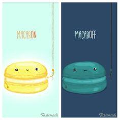 Macaron pun, phahahaha