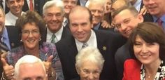 Just in case you forgot how white the Republican party is, this selfie is a fun reminder   who, exactly, is being united within this deeply homogenous group of lawmakers.