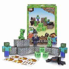 Minecraft Papercraft Hostile Mobs Set