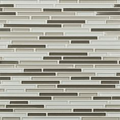 Artistic Tile | Opera Glass Collection; Tempest Glass Harmonic Lines