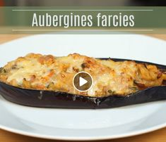 Recettes d'aubergines farcies - Marmiton Chicken, Meat, Food, Recipe Videos, Recipes, Essen, Meals, Yemek, Eten