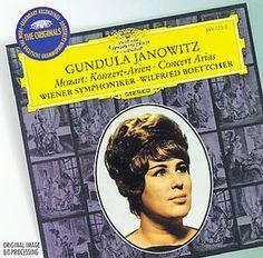 MOZART Konzert-Arien - Janowitz - Deutsche Grammophon