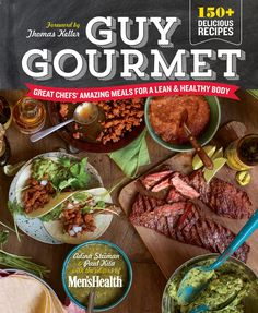 From Adina Steiman, the food and nutrition editor of Men's Health, and Paul Kita, who oversees the Guy Gourmet blog on MensHealth.com, comes Guy Gourmet: Great Chefs' Amazing Meals for a Lean & Healthy Body, the ultimate guide to crafting easy, delicious meals at home.