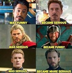 would argue that Thor has always been funny, his movies were just a bit more s. I would argue that Thor has always been funny, his movies were just a bit more s.I would argue that Thor has always been funny, his movies were just a bit more s. Avengers Humor, Marvel Avengers, Marvel Jokes, Funny Marvel Memes, Dc Memes, Marvel Dc Comics, Memes Humor, Marvel Heroes, Thor Meme