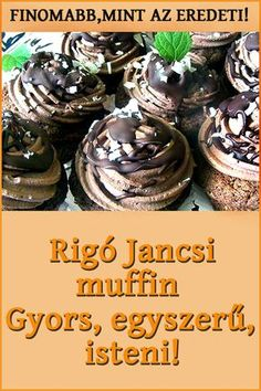 Hungarian Desserts, Hungarian Recipes, Peach Yogurt Cake, Twisted Recipes, Sweet Cupcakes, No Bake Cookies, Street Food, Love Food, Food To Make