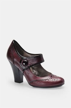 Söfft 'Fiona' Mary Jane Pump | Nordstrom    This would be lovely with the rust tweed.