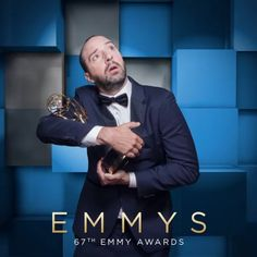 Supporting Actor, Comedy winner @MeTonyHale #Veep w/glimmering gold in the #Emmys photo lounge! Sponsored by @ChaseSapphire Preferred  Watch NOW on @foxtv, and get the all-access view on emmys.com/bsl!  #cinemagraph by @FlixelPhotos
