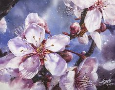 2014 'Fan Ying Flourishing' by Lin Ching Che (林經哲 b1987; Taipei, Taiwan) | Watercolor
