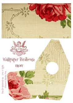 Wings of Whimsy: Wallpaper Birdhouse No 28