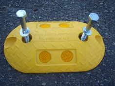 Rumble Bars from Speed Humps Australia are available in Yellow and White and lengths of either or Supplied with all fixings required for quick and simple installation. Safety, Australia, Bar, Yellow, Simple, Projects, Security Guard, Log Projects, Blue Prints