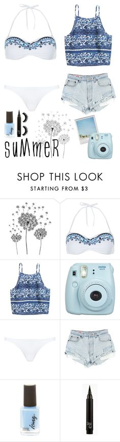 """""""Simple Summer"""" by best-outfits-xo ❤ liked on Polyvore featuring Polaroid, jcp, Accessorize and Blue Man"""