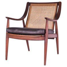 Peter Hvidt & Orla Mølgaard-Nielsen FD148 Cane Back Easy Chair 1