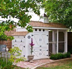 Chez Poulet Chicken Coop Plans - $39 for set of architectural plans