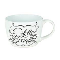 Hello Beautiful Mug   Kirklands