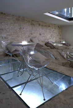 Torri E Merli boutique hotel Lakka, Paxoi, Greece Bungalow, Greece, Hotels, Dining Table, Spaces, Boutique, Travel, Furniture, Home Decor