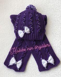 #selamunaleykum#hayırlısabahlar🤲🏻 Dostlarım  bu güzel seher vakitleri hürmetine Rabbim sıkıntısı olanlara yardım etsin hastalarına şifalar… Knitting Videos, Hats For Men, Hat Men, Winter Hats, Gloves, Crochet Hats, How To Make, Instagram, Fashion