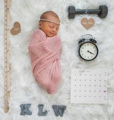 Love this idea for a new born photo