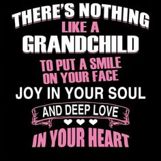 A Grandchild To Love ...