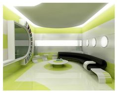 Cool high tech looking room design