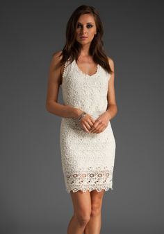 Lace Comden dress by Joie.