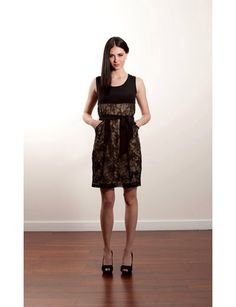 Black Lace Dress *
