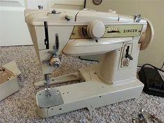 Singer Slant 431G German Made Zigzag Free Arm Sewing Machine Vintage 431 G | eBay