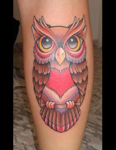 Owl Tattoo....petite would be perfect!