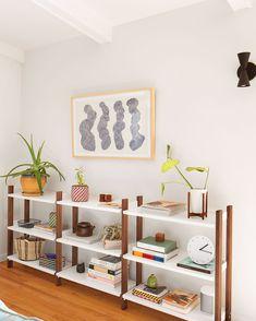 Floyd Shelving System | Modern Living & Dining Room Shelves - FLOYD Home Decor Furniture, Furniture Making, Dining Room Shelves, Tall Shelves, Modular Shelving, Shelving Systems, Lexington Home, How To Clean Metal, Modern Decor