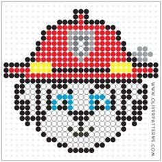 PerlerPattern - New Sites Perler Bead Templates, Diy Perler Beads, Perler Bead Art, Pearler Beads, Fuse Beads, Melty Bead Patterns, Hama Beads Patterns, Beading Patterns, Diy Embroidery