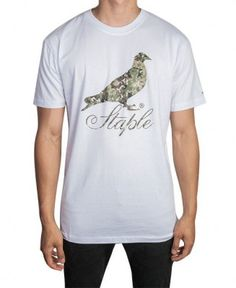 Staple - Camo Script T-Shirt - $26
