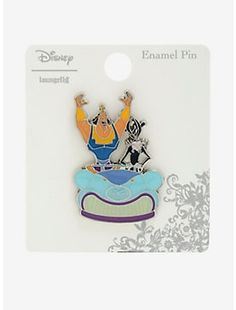 Genie Magic Lamp Enamel Pin 2018 Disney Loungefly Aladdin BoxLunch Exclusive