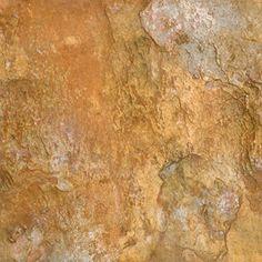 Faux-Stone Floor  PORCELAIN TILE THAT LOOKS LIKE WARM NATURAL STONE. BUDGET FRIENDLY. DEL CONCA CANYON SLATE TILE, $2 EACH, @ LOWES!!!! LOVE IT!!!!
