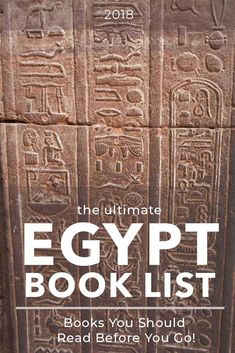 A list of 17 books set in Egypt for vacation book ideas