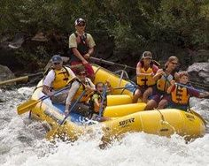 1/2 day whitewater rafting (Class I-III) on the Rogue River $80/person plus taxes and tip.  8:30a-12pm or 11am-4pm (lunch with later tour)